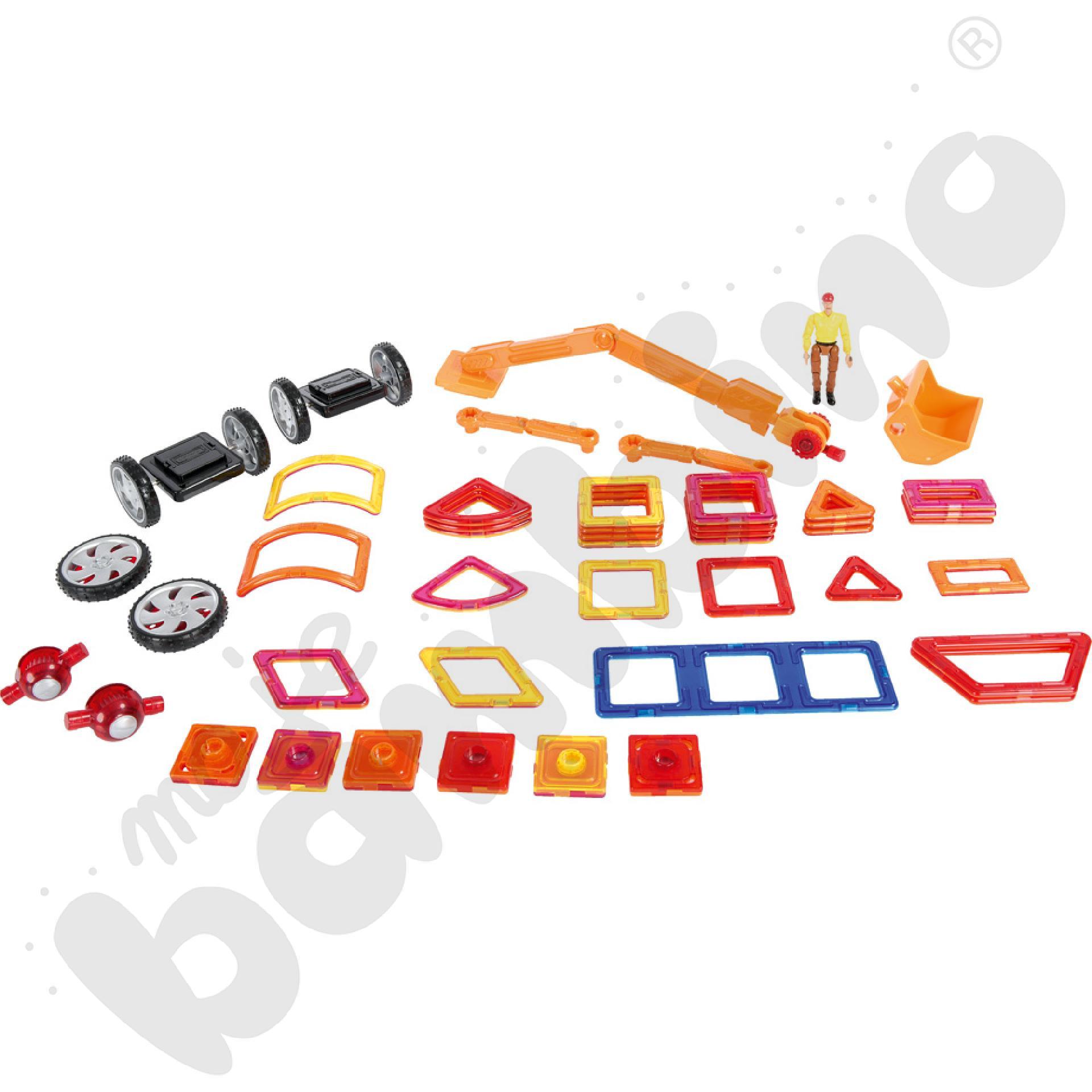Magformers - pojazdy budowlane