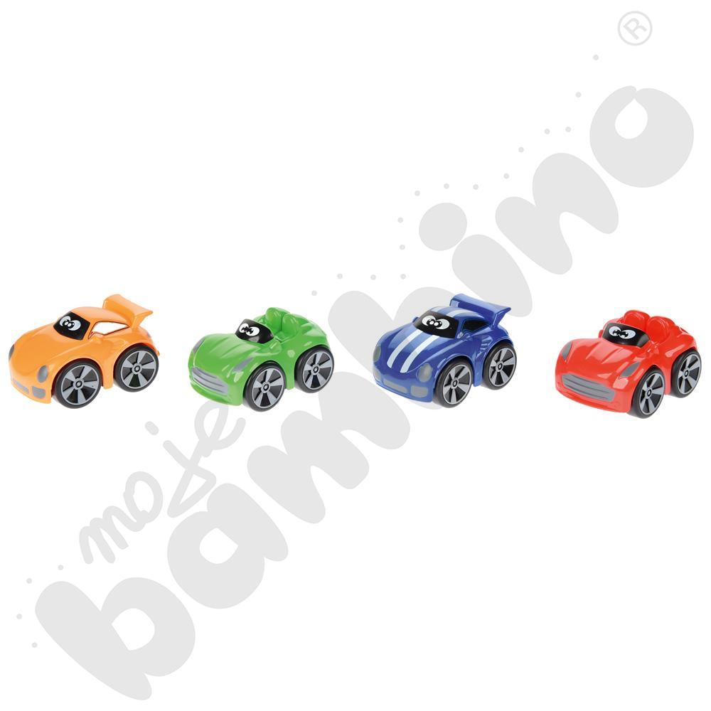 Autko wyścigowe mix kolorów