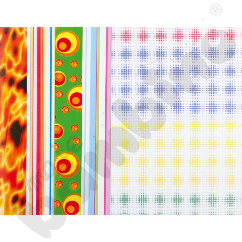 Wzory - papier transparentny