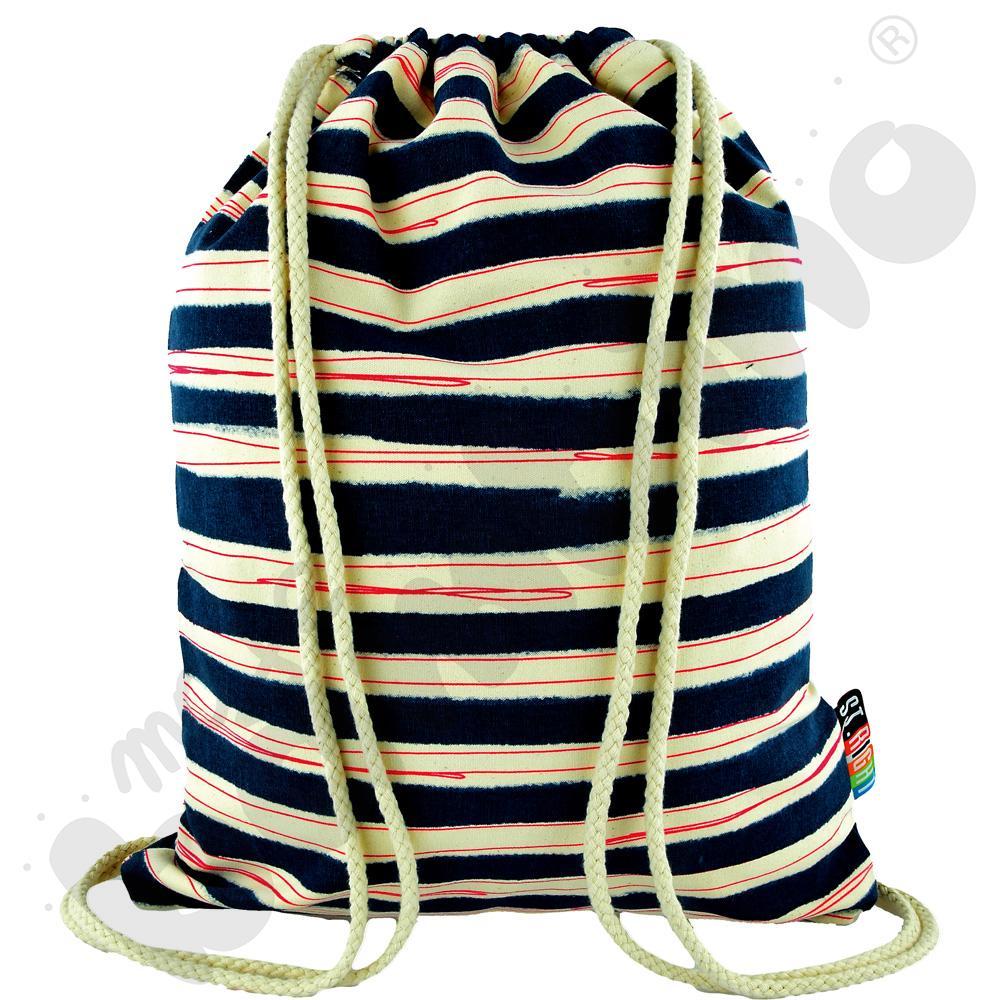 Plecak na sznurkach STRIPES