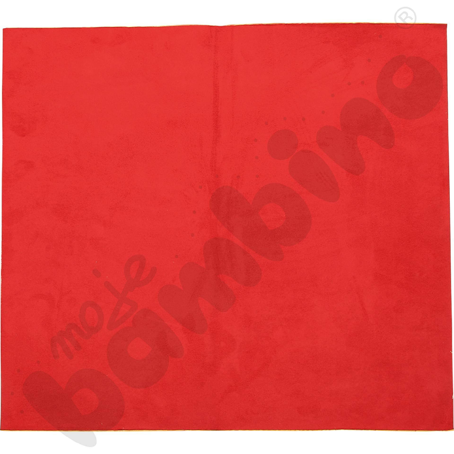 Magnetyczna tapeta kwadrat - ciemnoczerwona