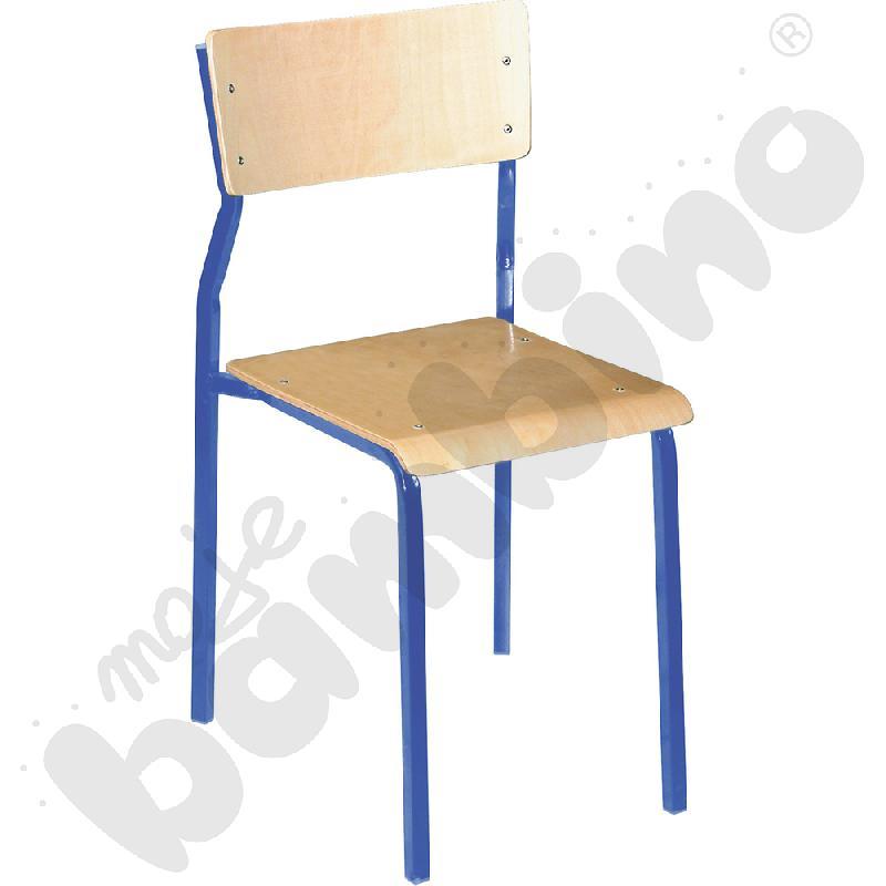 Krzesło B rozm. 4 niebieskie