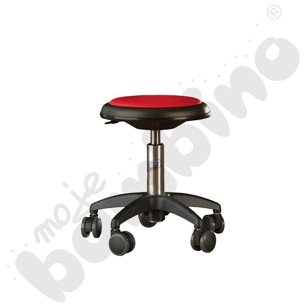 Krzesło Genito, wys. 30-38 cm - czerwone