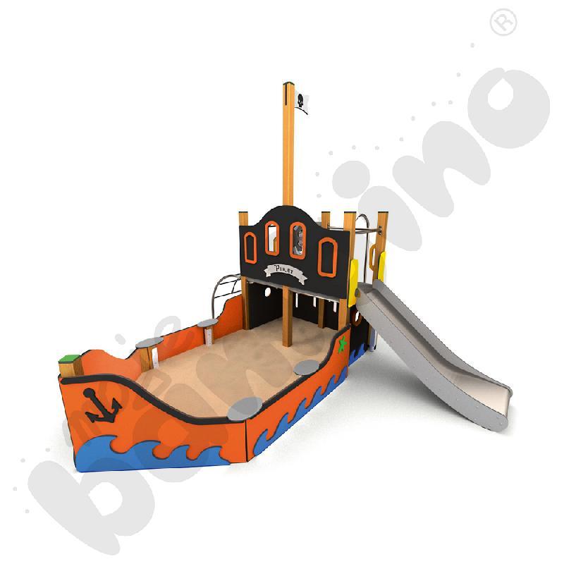 Statek małego pirata