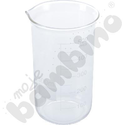 Zlewka wysoka szklana 500 ml