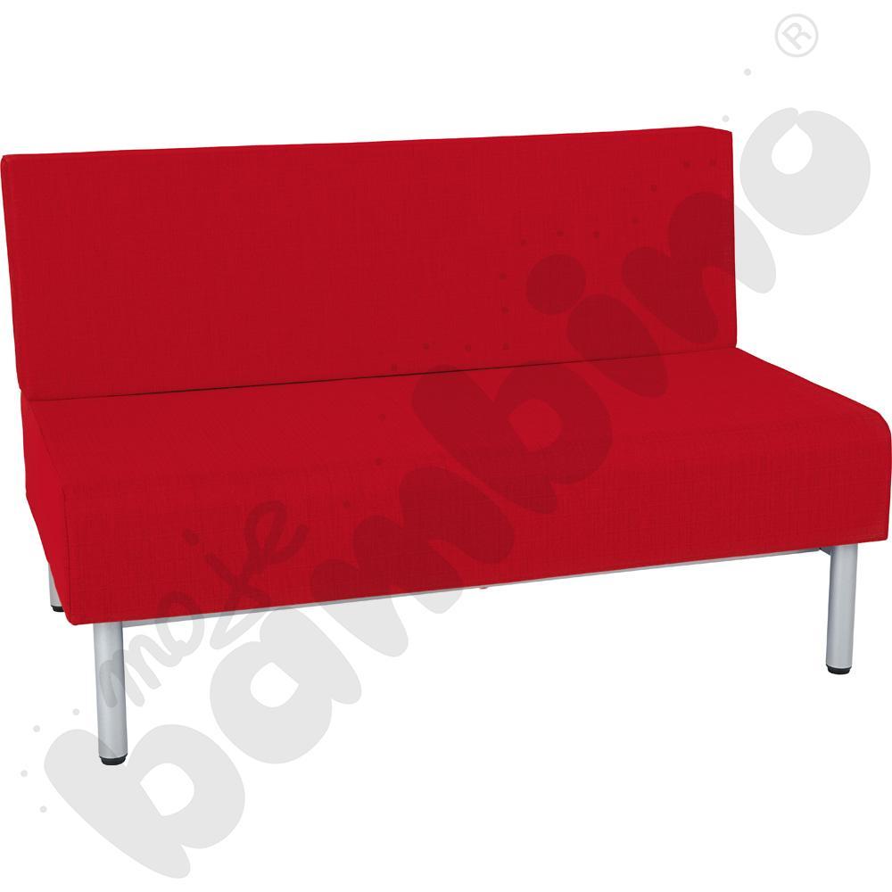 Fotel Inflamea 1, 2 os. - czerwony