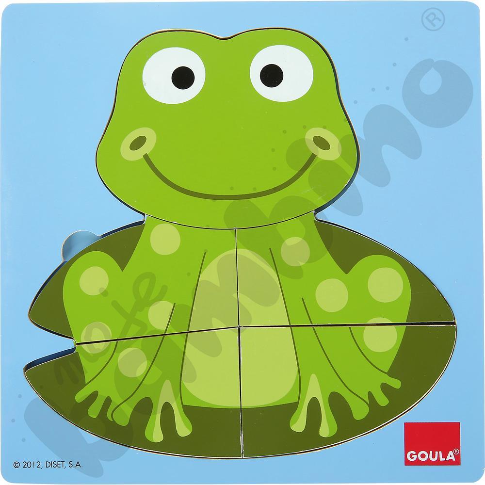 Żabka - puzzle trzypoziomowe