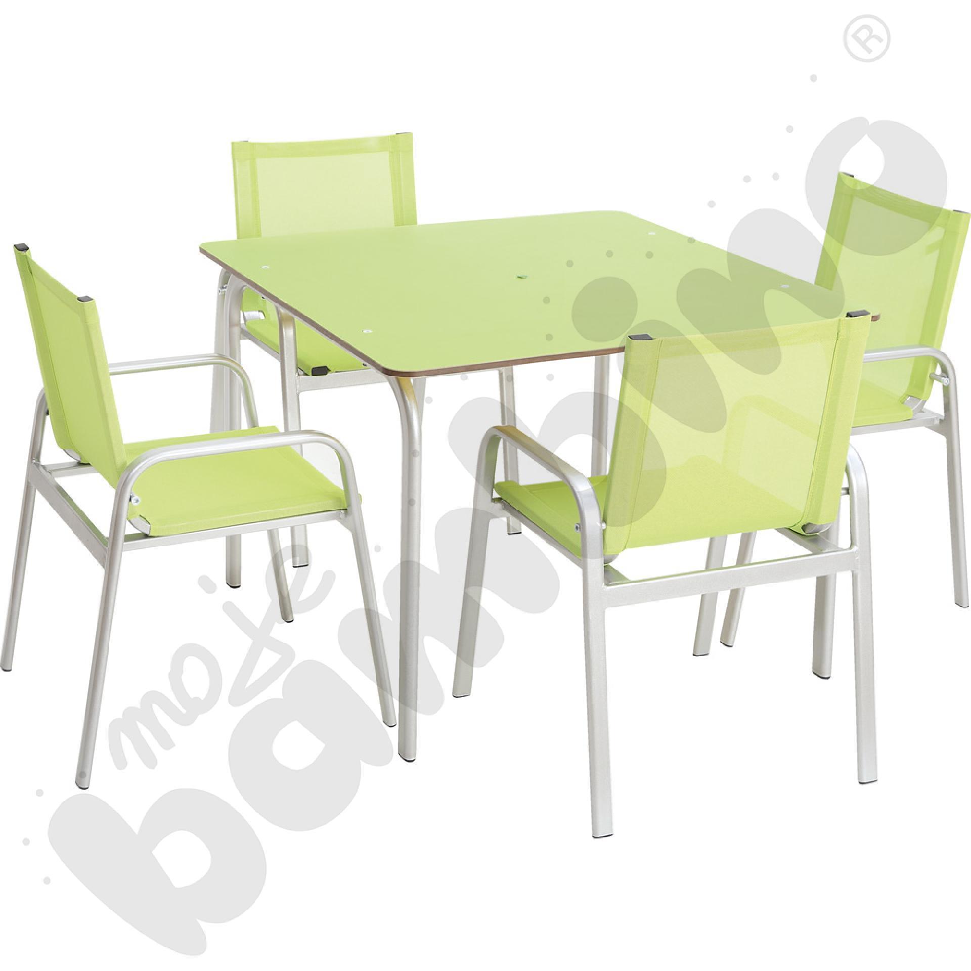 Zestaw ogrodowy - stół i...