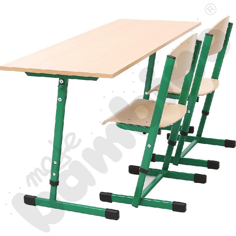 Zestaw T - stół z krzesłami