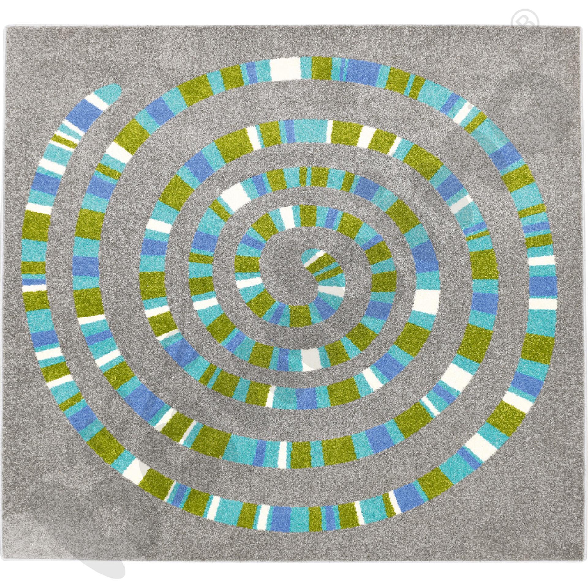 Dywan spirala 2 x 2 m