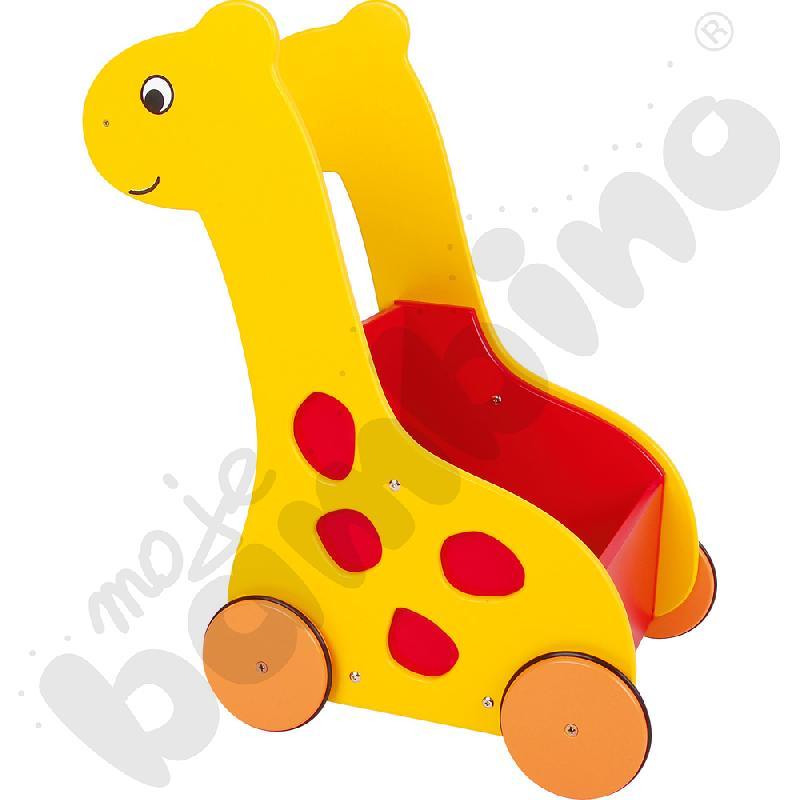 Wózek - żyrafa