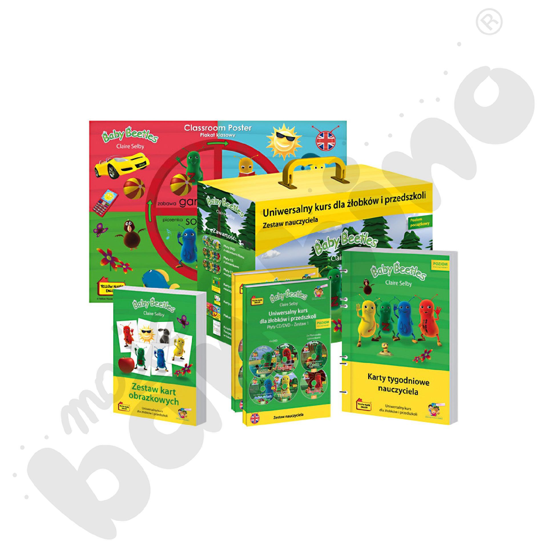 Baby Beetles - materiały dla nauczyciela (kurs do placówki - starter)