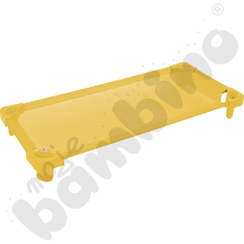 Łóżeczko żółte