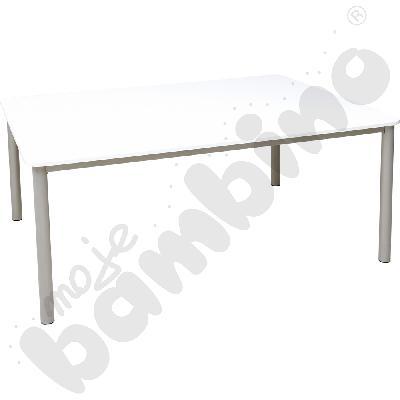 Duży biały stół 180 x 140 cm