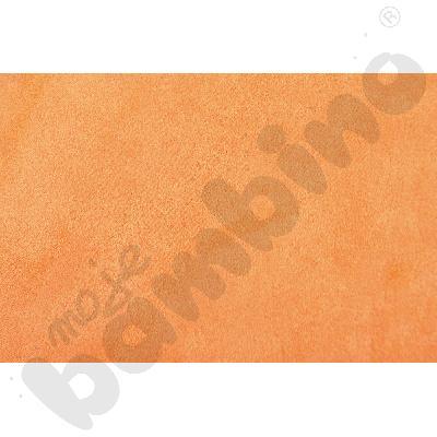 Welurowe pasy ozdobne - pomarańczowy