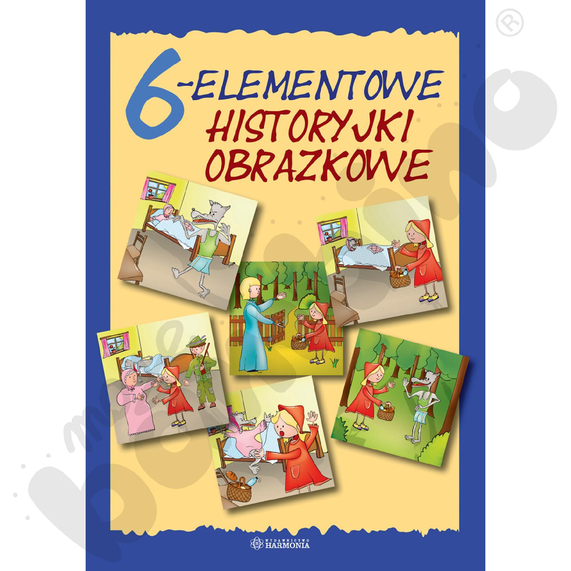 Historyjki obrazkowe 6 - elementowe