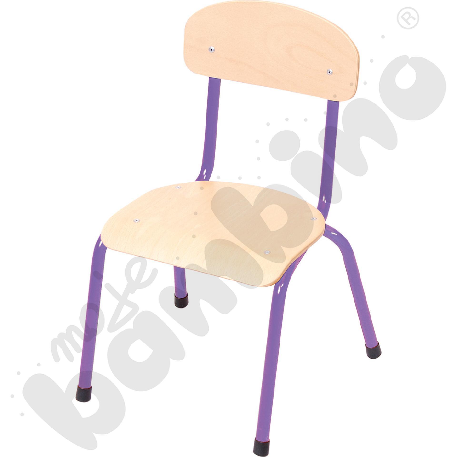Krzesło Bambino rozm. 1 fioletowe
