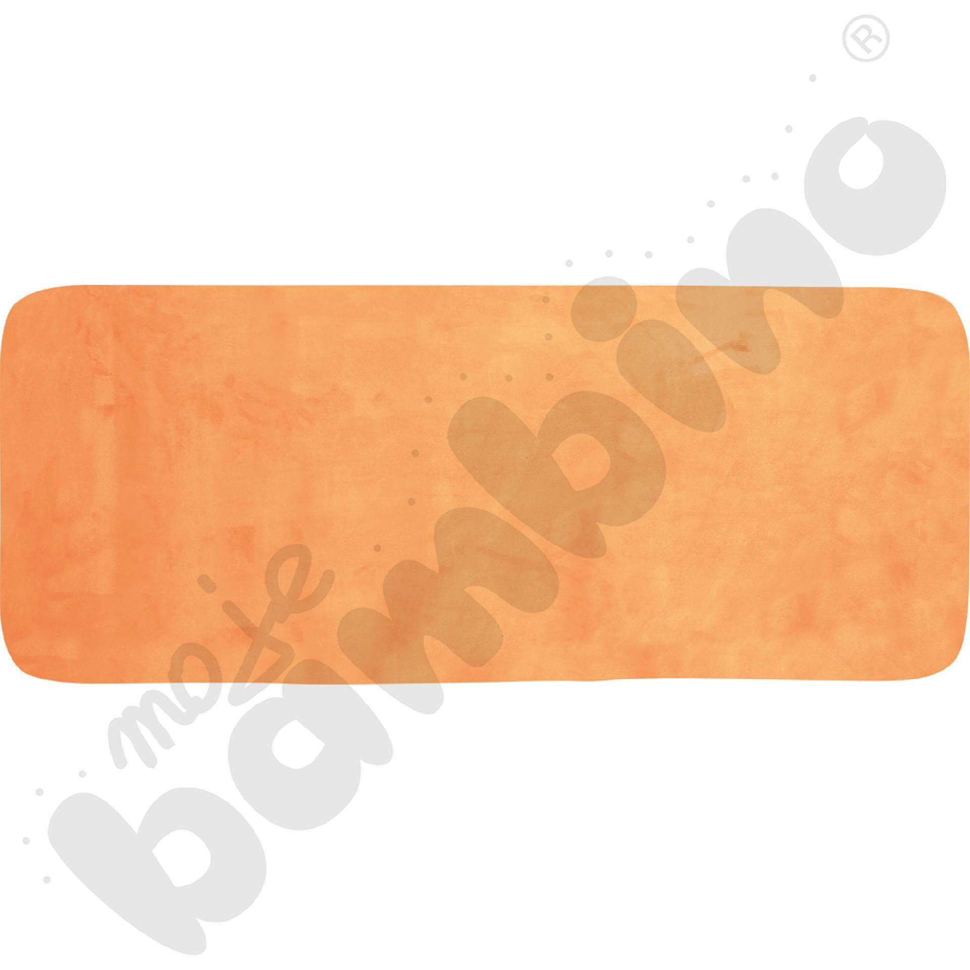 Magnetyczna tapeta-tablica pomarańczowa