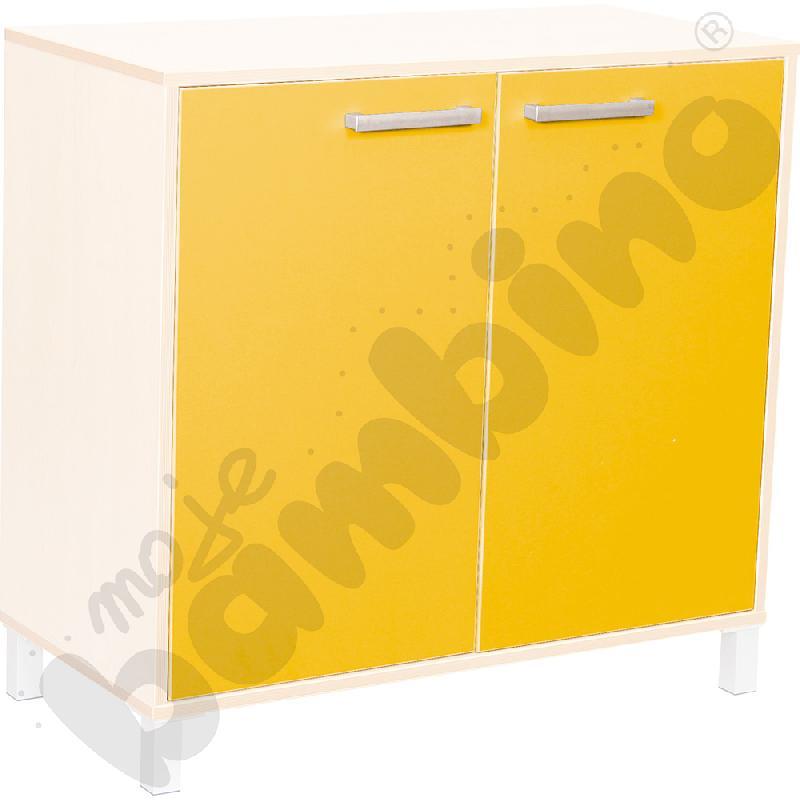 Drzwiczki Premium - żółte