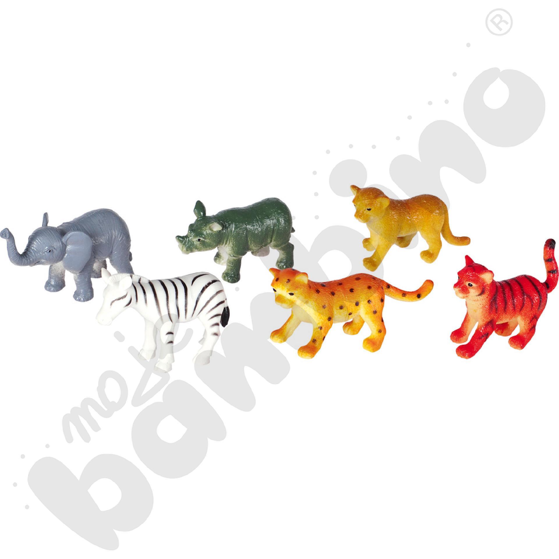 Dzieci zwierząt safari