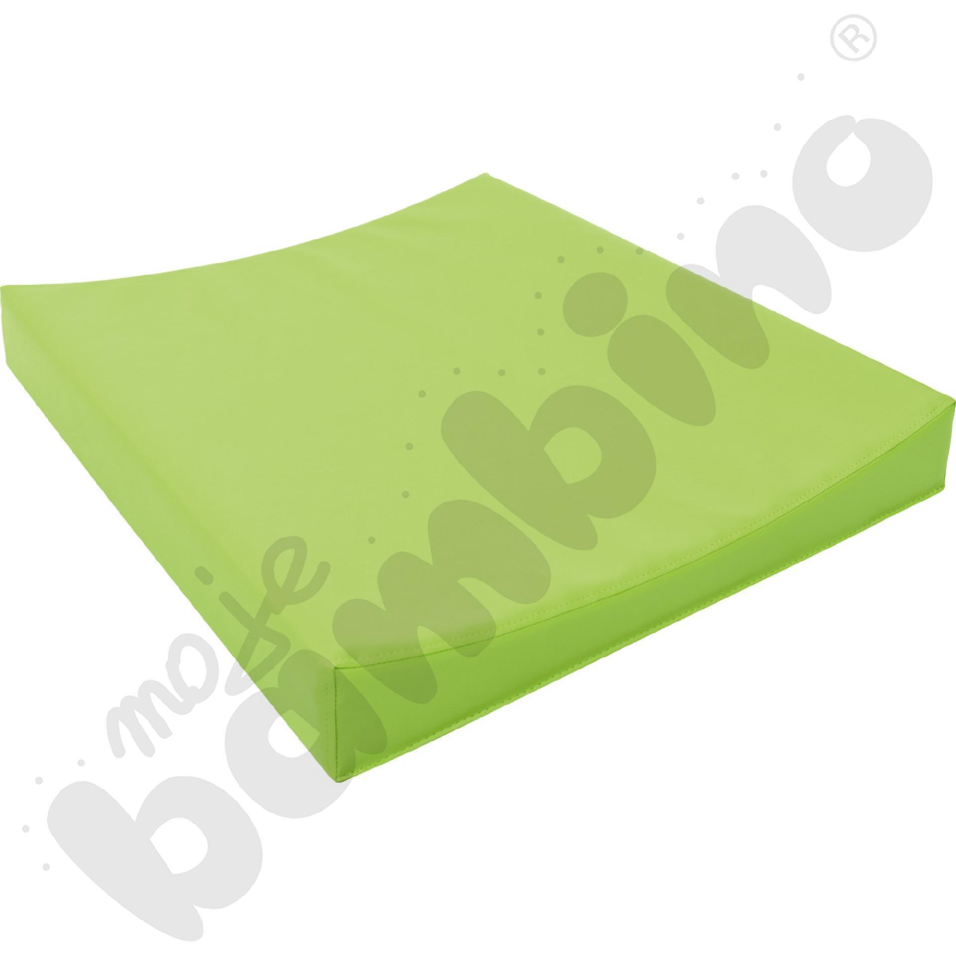 Materac do przewijaka Quadro - jasnozielony