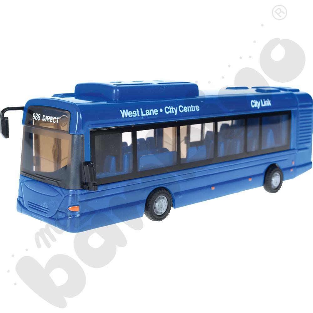 Autobus miejski, mix kolorów