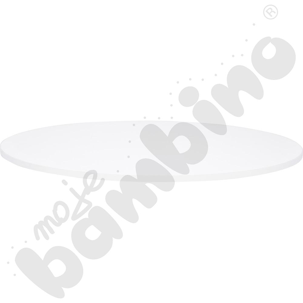Blat Quadro biały okrągły,...