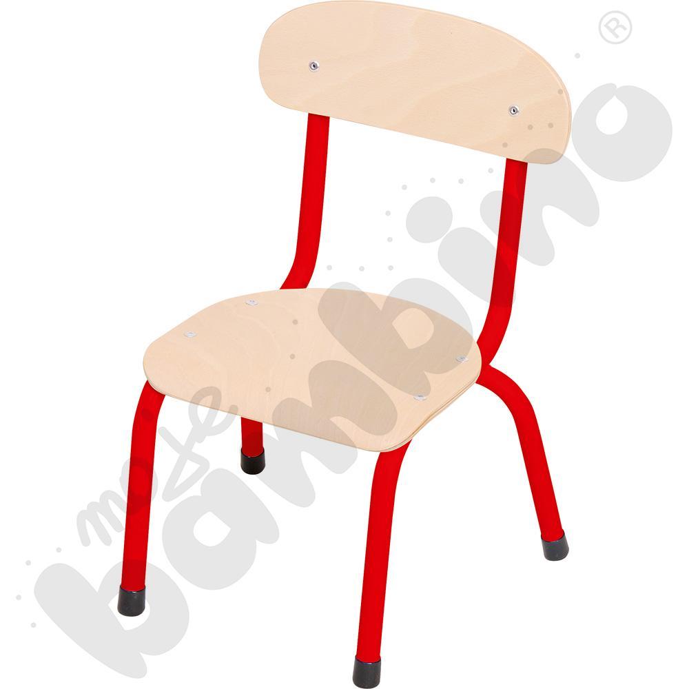 Krzesło Bambino rozm. 0 czerwone