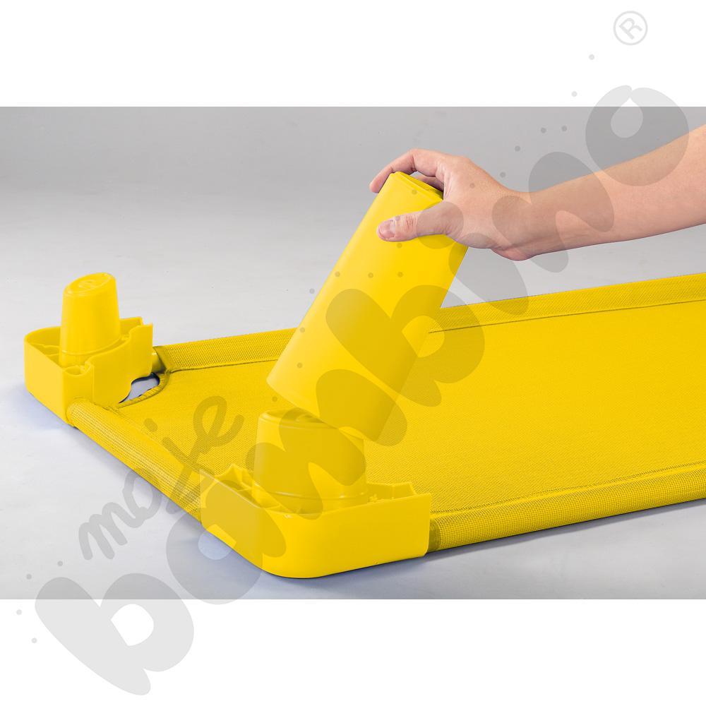 Nóżki do łóżeczek żółte