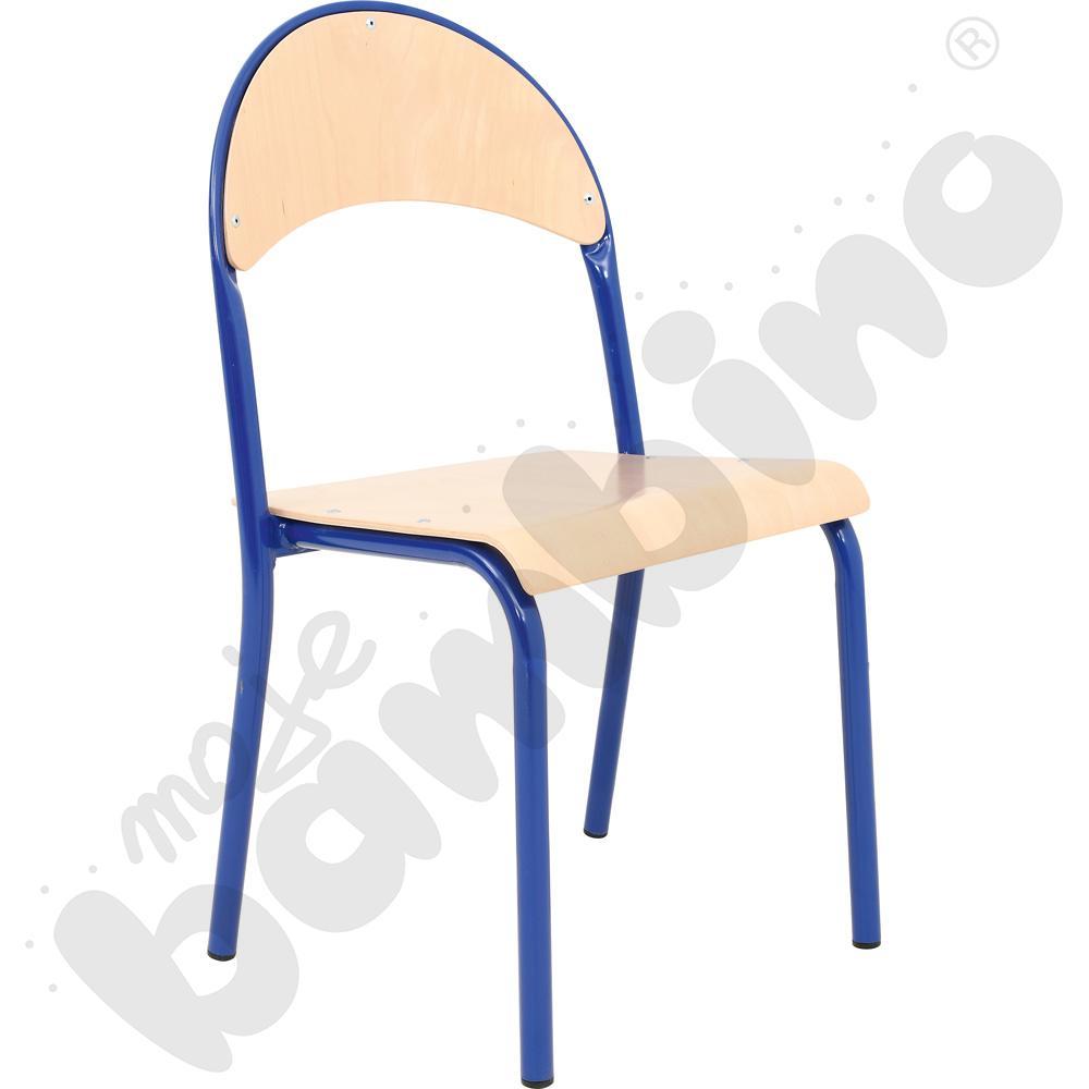 Krzesło P rozm. 3 niebieskie