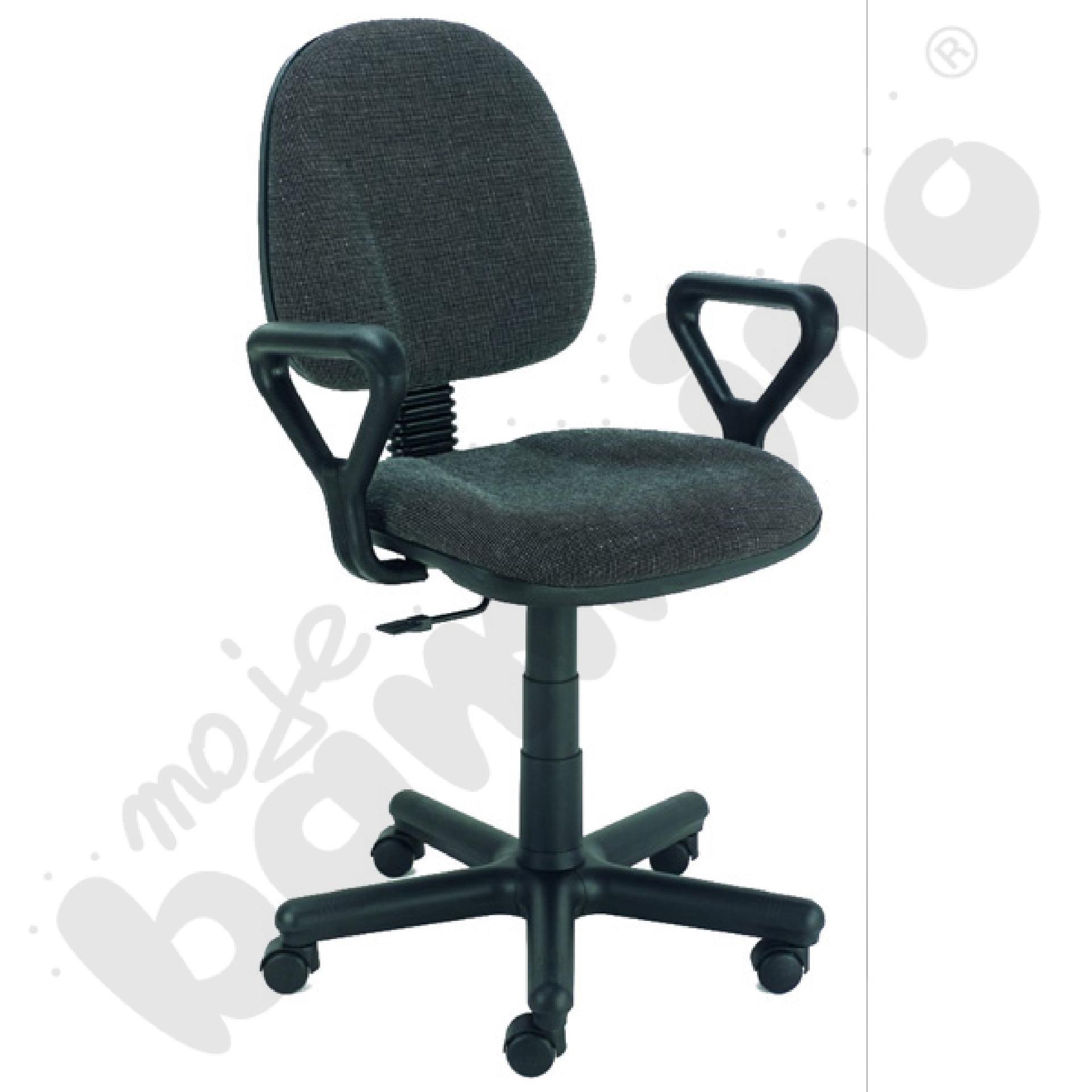 Krzesło obrotowe Regal Gtp C-73 kolor szaro-czarny