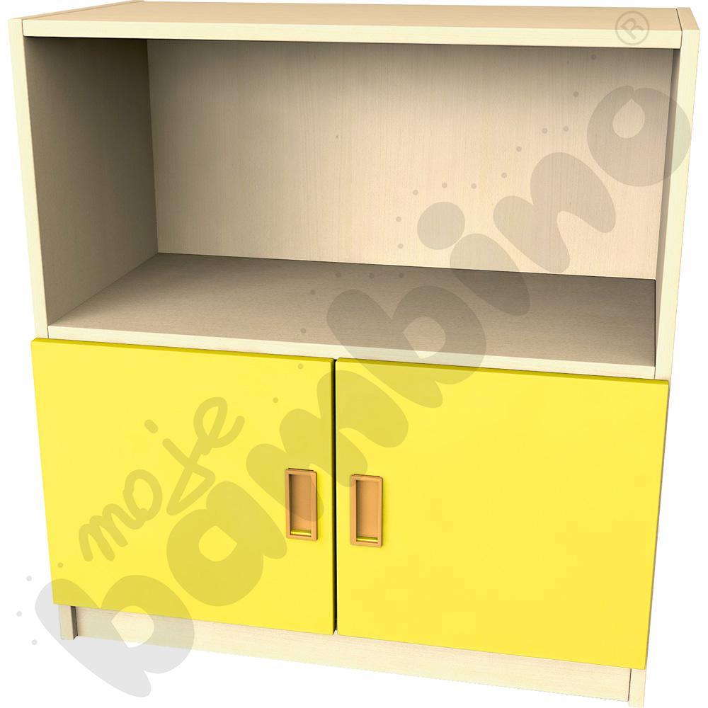 Drzwi małe do regału - żółte