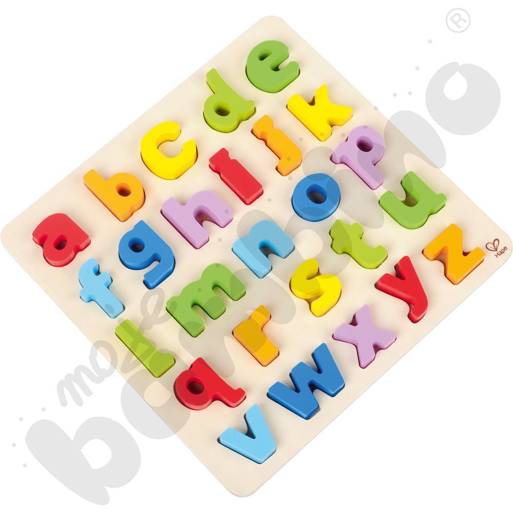 Puzzle alfabetyczne - małe litery