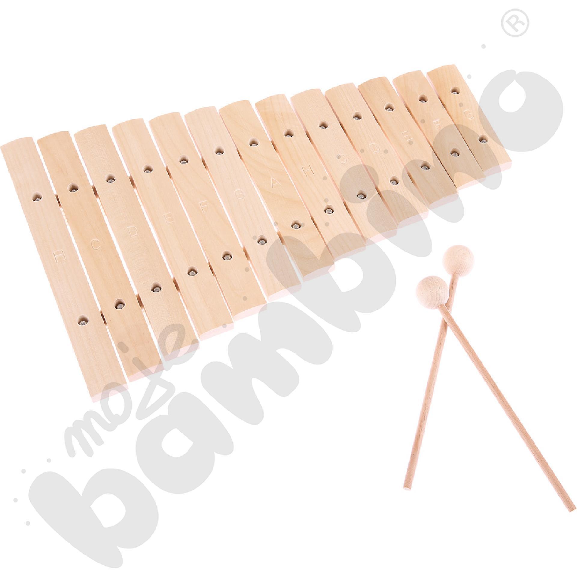 Ksylofon drewniany