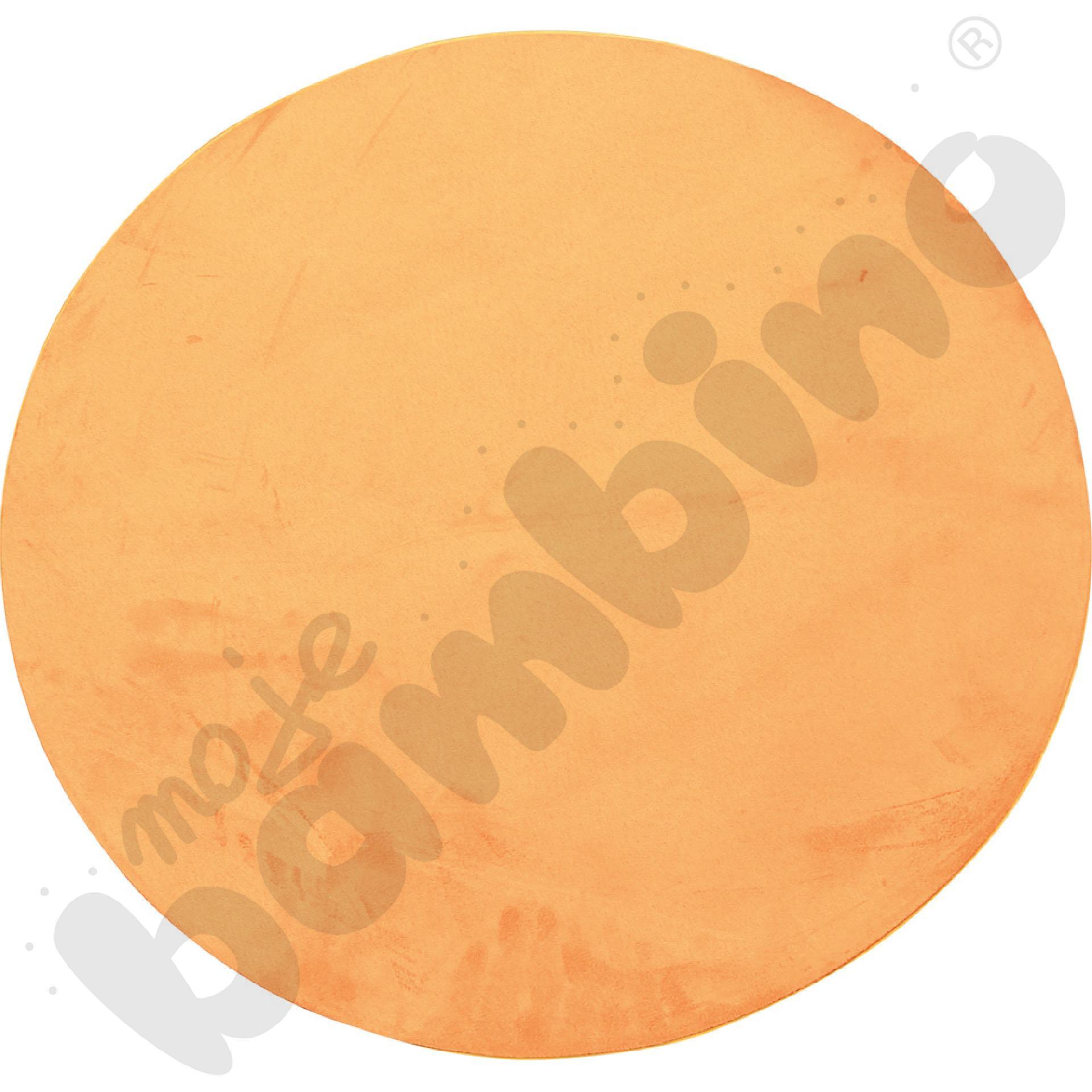 Magnetyczna tapeta koło - pomarańczowa