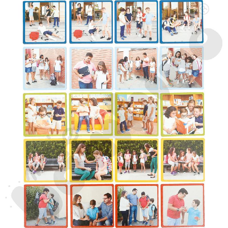 Jak zapobiegać przemocy i szykanowaniu w szkole - zestaw kart