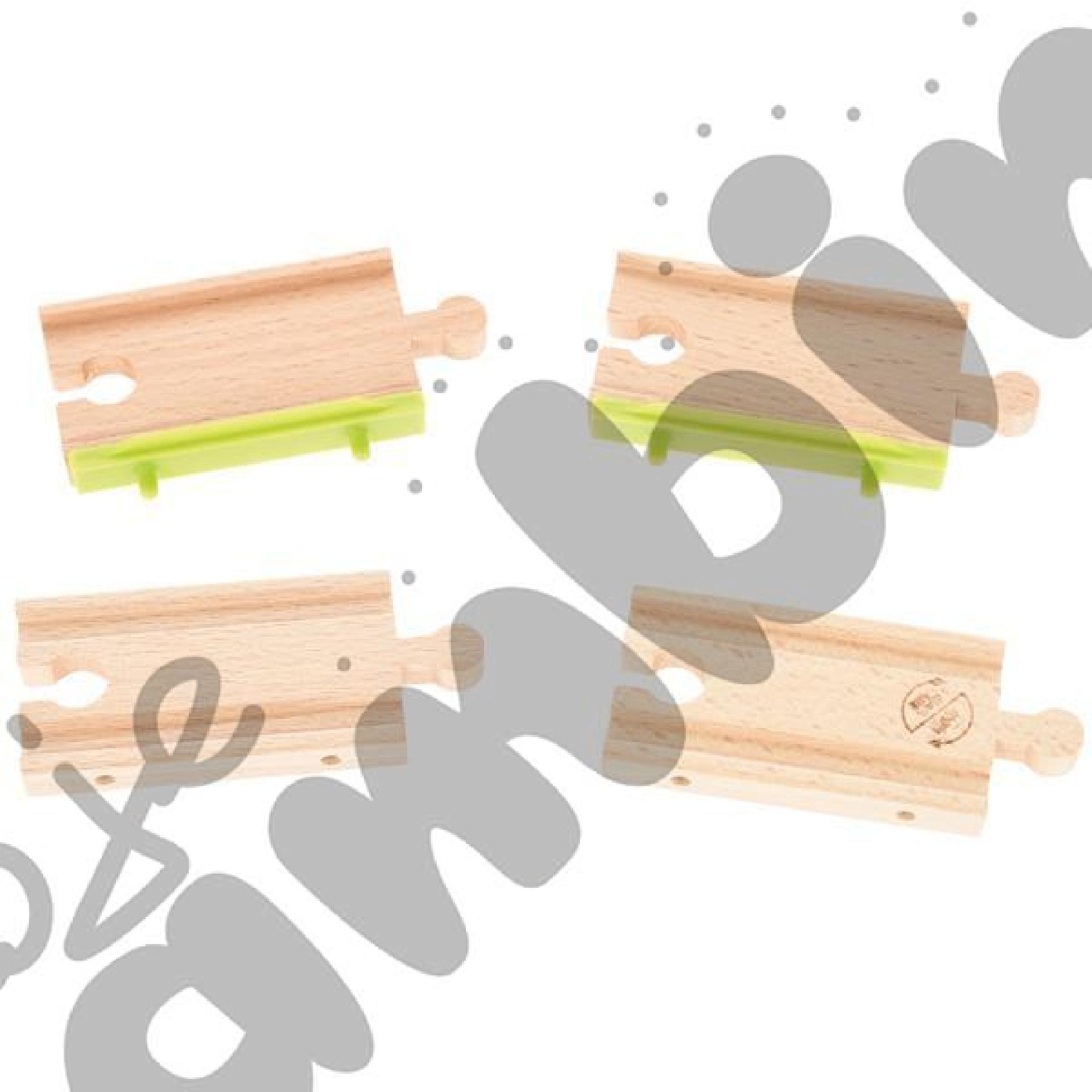 Drewniane tory - uzupełnienie 16, podwójne tory