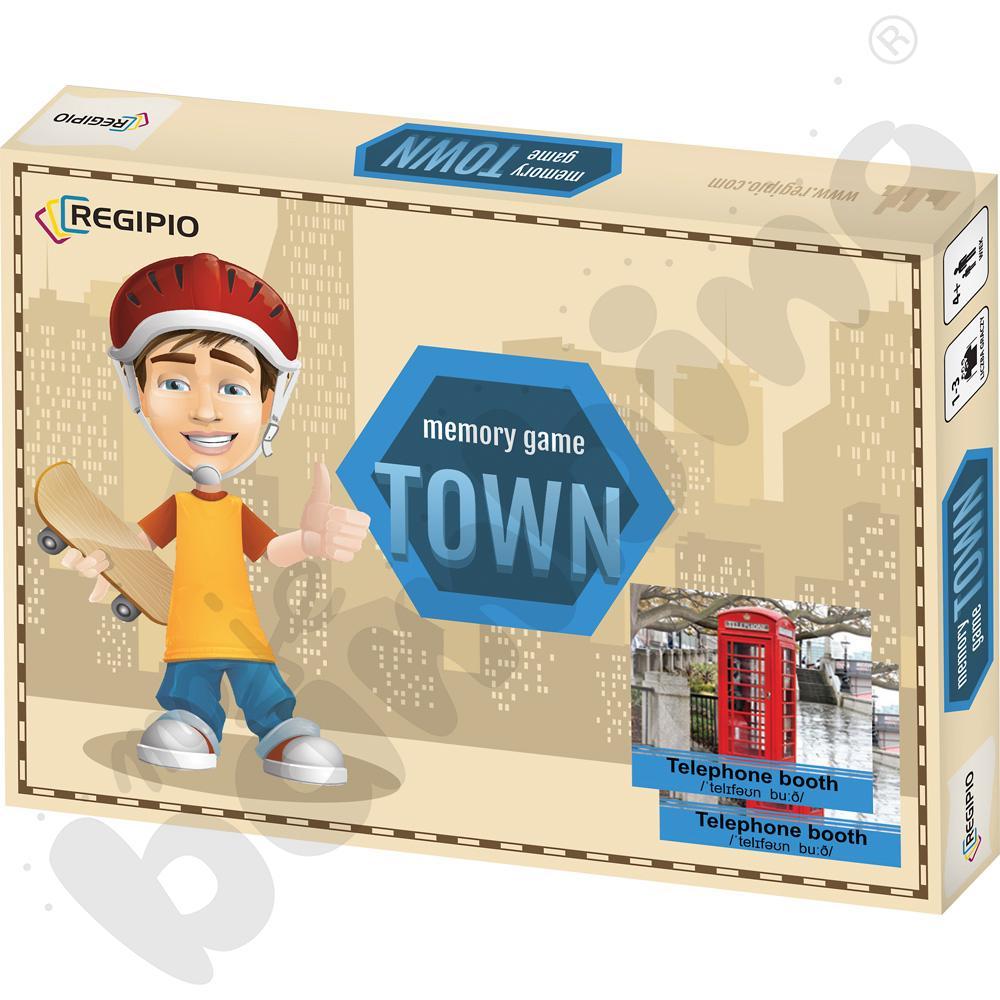Memory game - Town