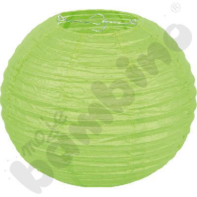 Papierowy lampion - zielony