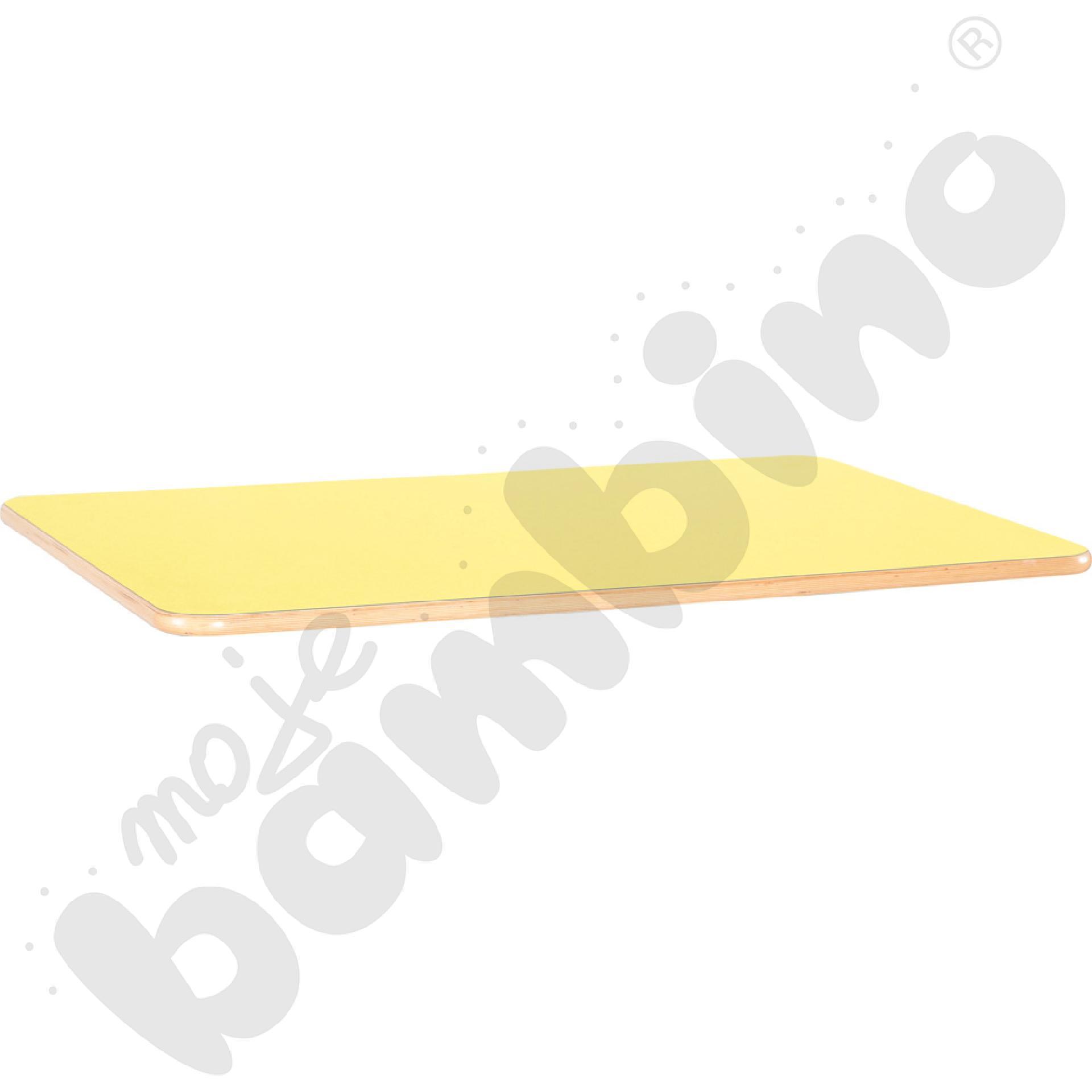 Blat Flexi prostokątny - żółty