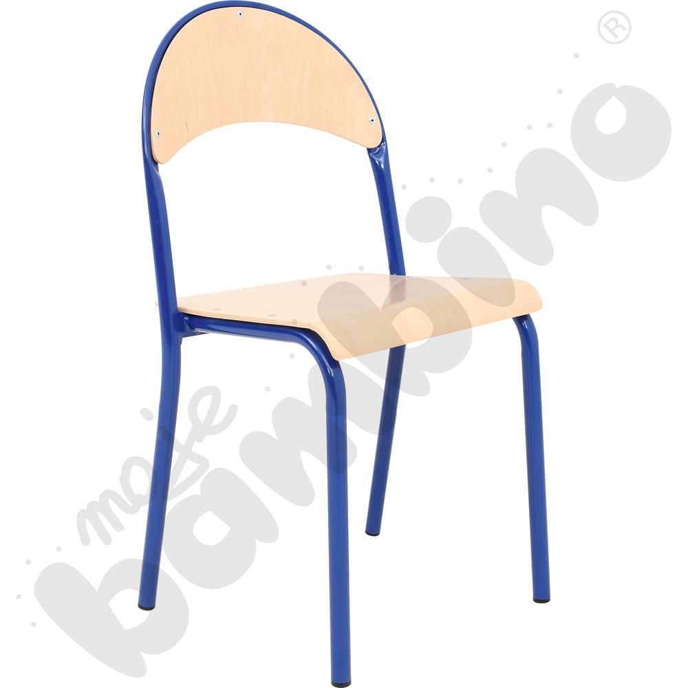 Krzesło P rozm.  6 niebieskie