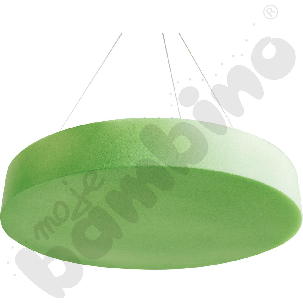 Panel okrągły wyciszający - zielony