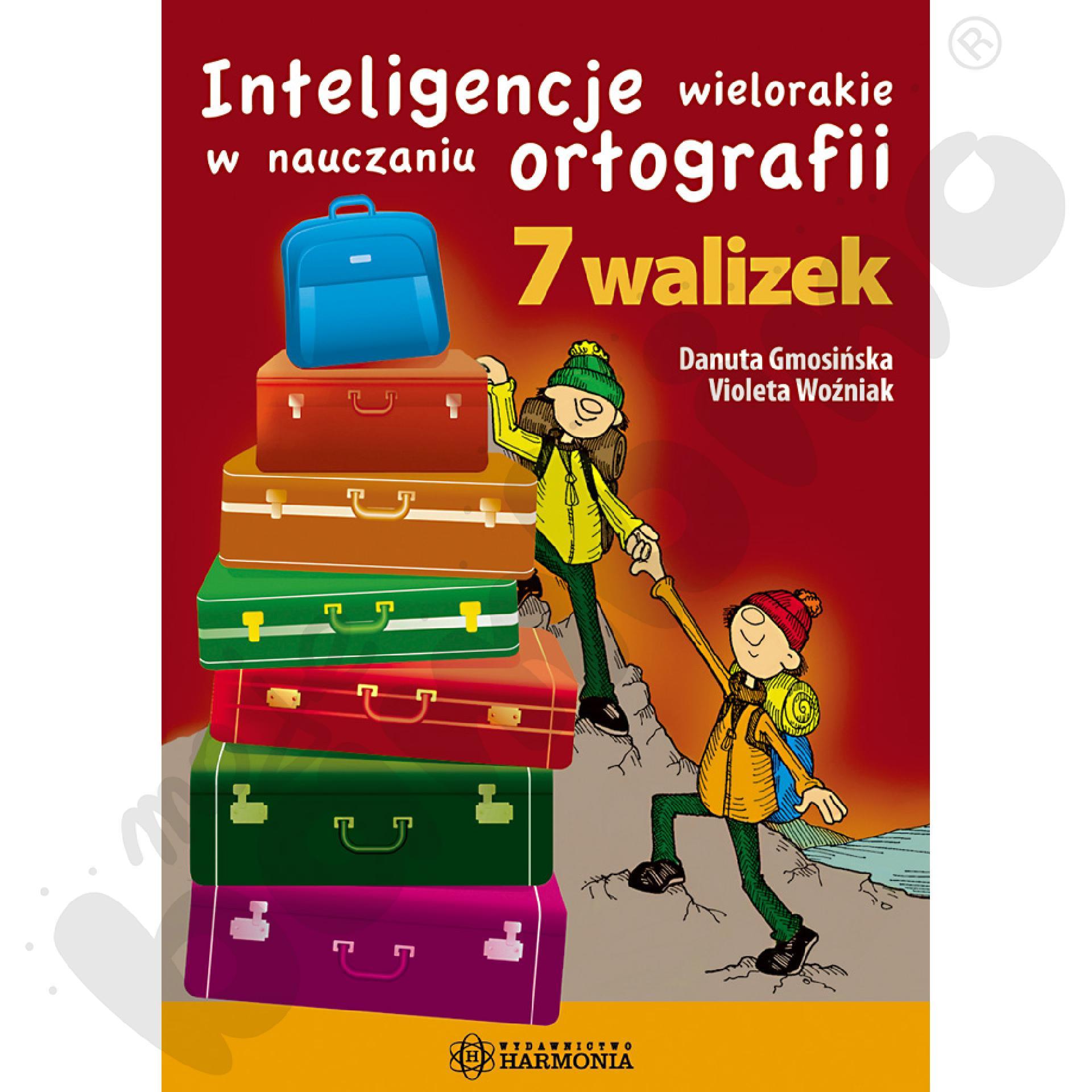 7 walizek. Inteligencje wielorakie w nauczaniu ortografii - komplet (książka + 2 teczki)