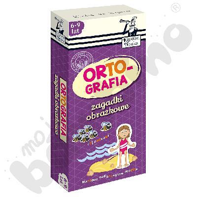 Ortografia - zagadki obrazkowe, 6-9 lat