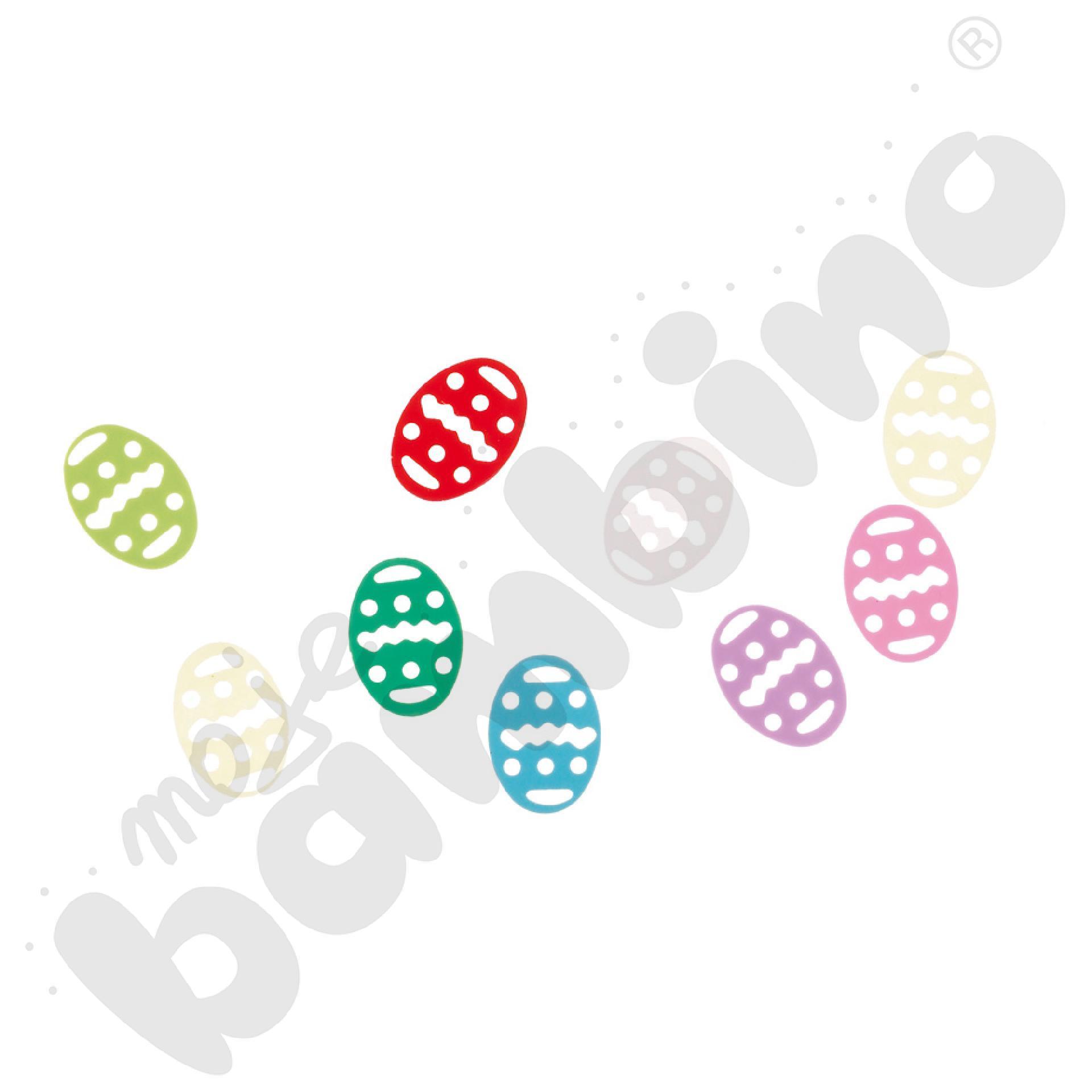 Konfetti małe jajeczka