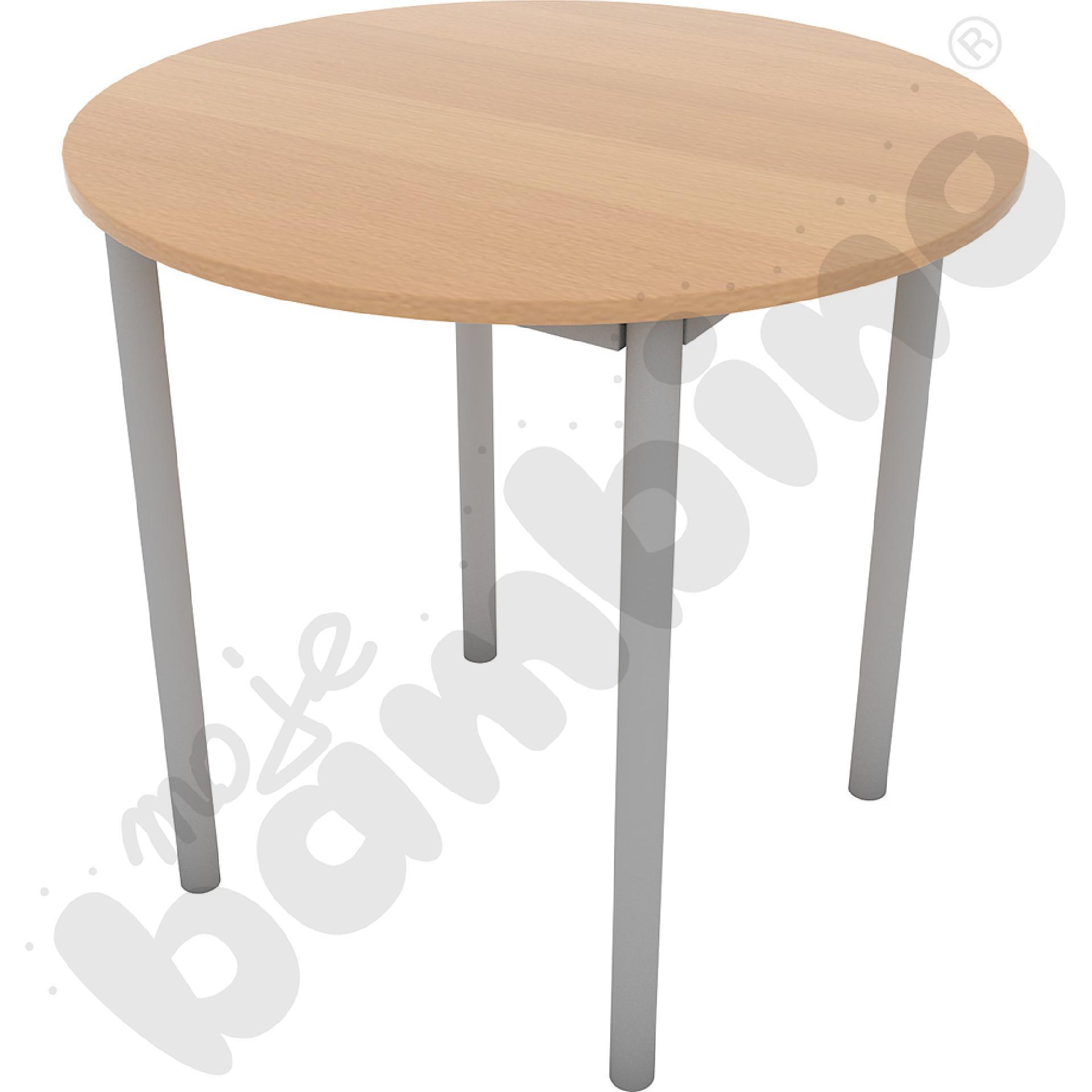Stół kawowy Expo śr. 80 cm buk
