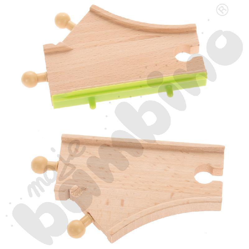 Drewniane tory - uzupełnienie 23, podwójne tory