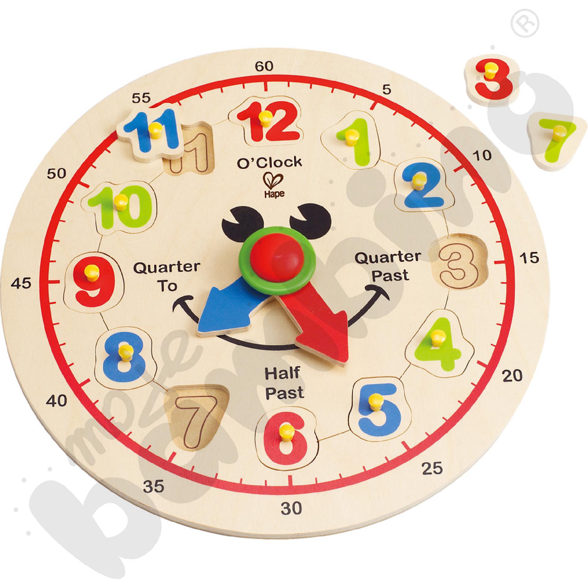 Nakładanka - zegar