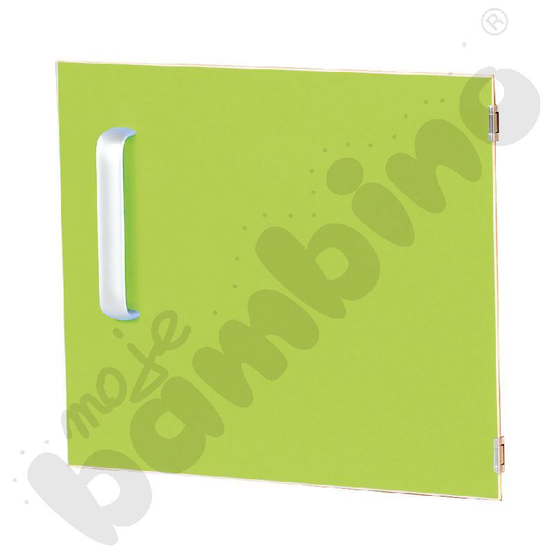 Drzwiczki do szafki M z przegrodą prawe - zielone
