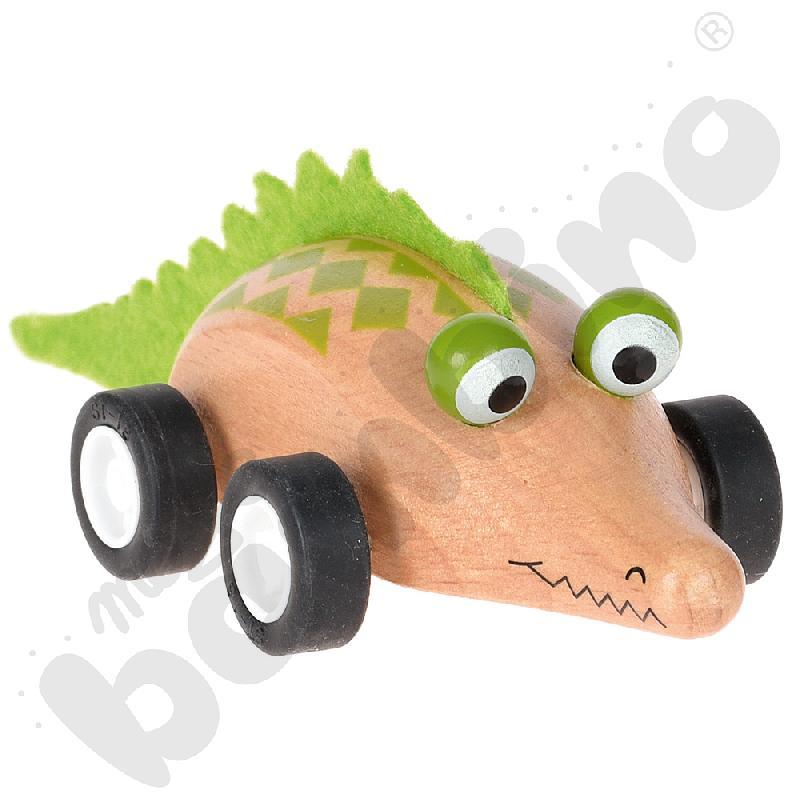 Krokodyl drewniany